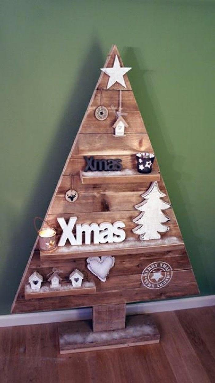 Diy houten kerstboom - Een houten boom maken ...