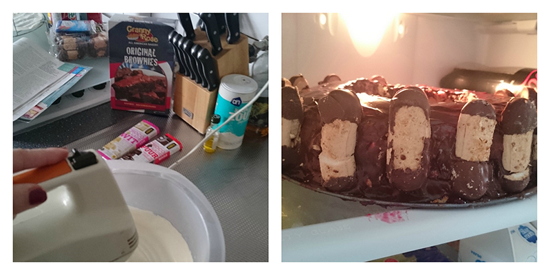 bokkenpootjes taart