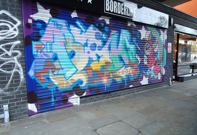 Londen shoreditch streetart