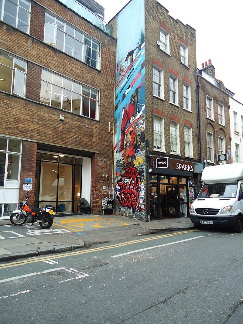 londen shoreditch brick lane streetart