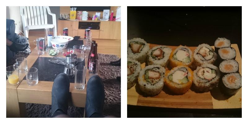 verjaardag sushi