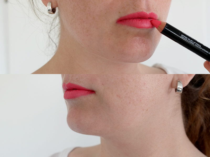 maybelline color drama in with coral