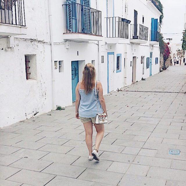 Ibiza streets Vandaag weer gewerkt na 2 weken vakantie HNTMhellip