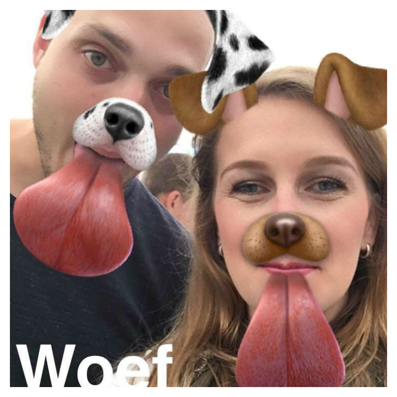 doggy snapchat