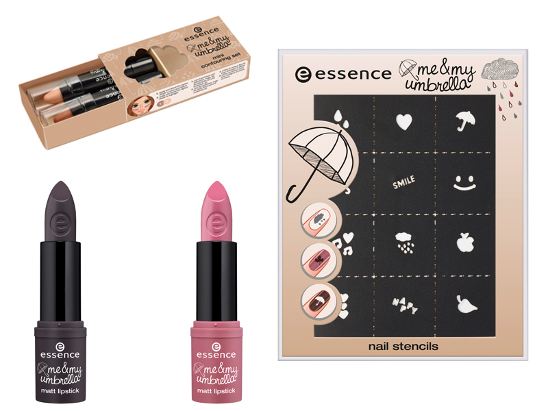 essence lips nails contour