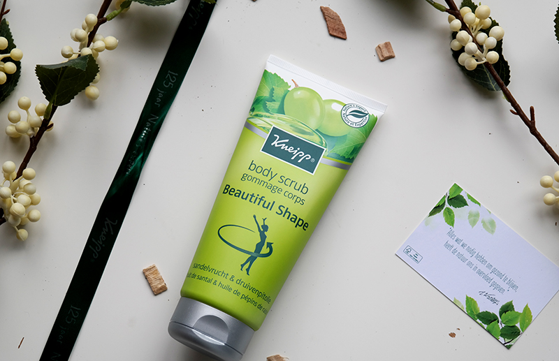 kneipp beautiful shape body scrub