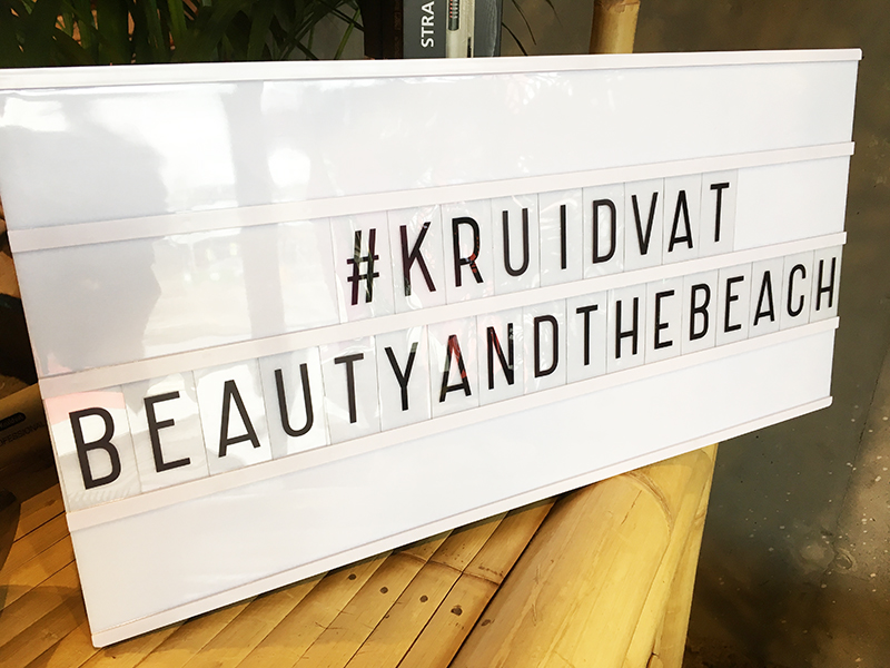 kruidvat beauty and the beach