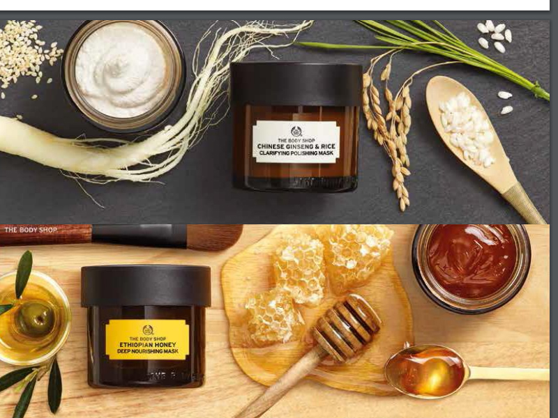 the body shop rijst honing