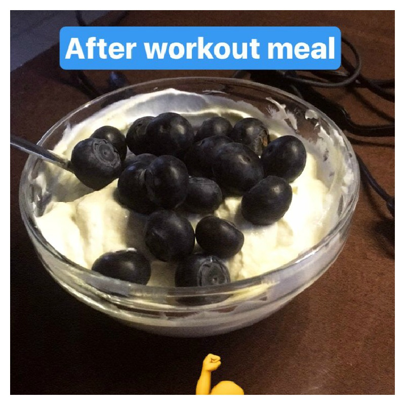 griekse yoghurt na sporten