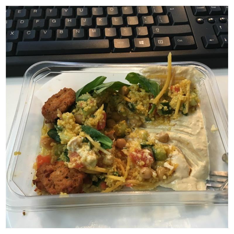 hummus couscous falafel