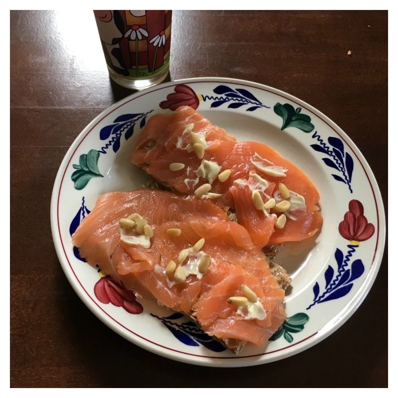 crackers zalm