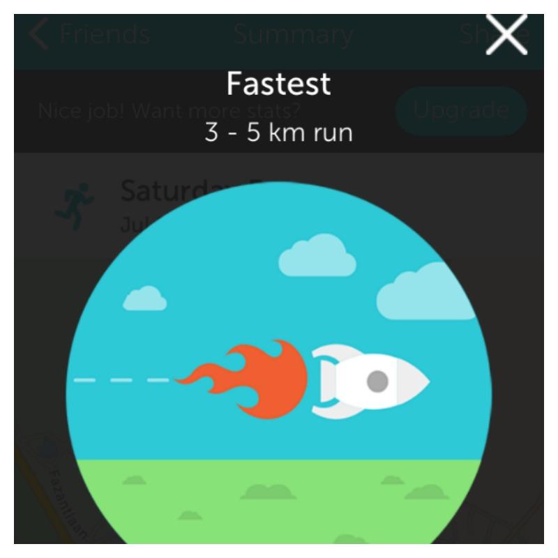 runkeeper fastest