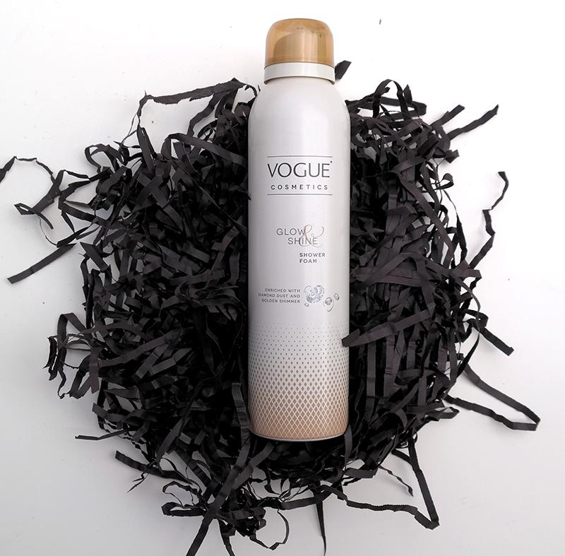 vogue glow and shine showerfoam