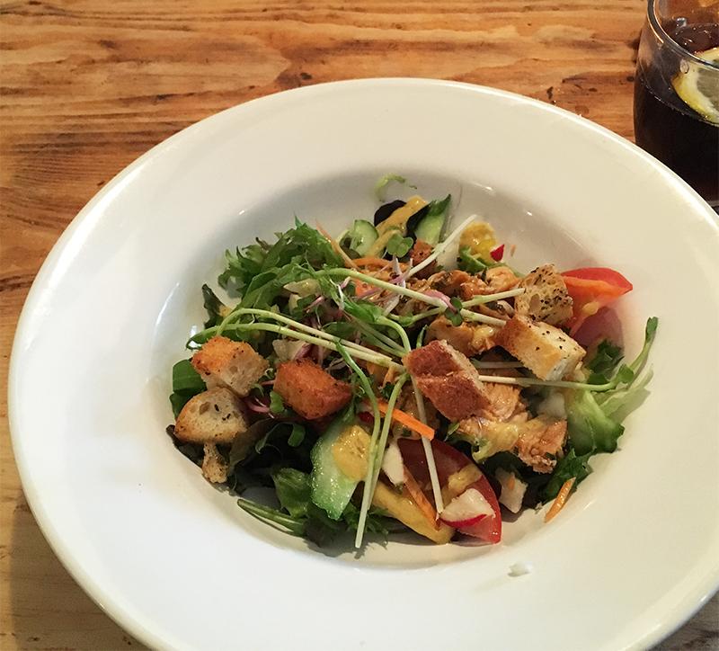 groupon kip salade
