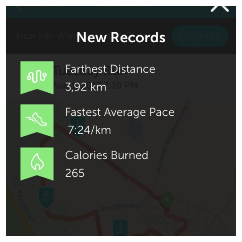 hardlopen new record