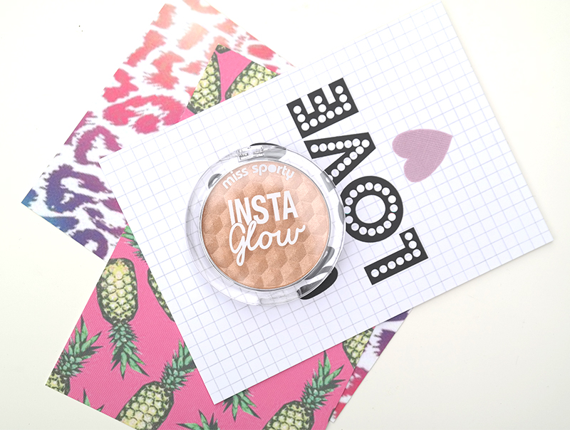 miss sporty happy look insta glow highlighter