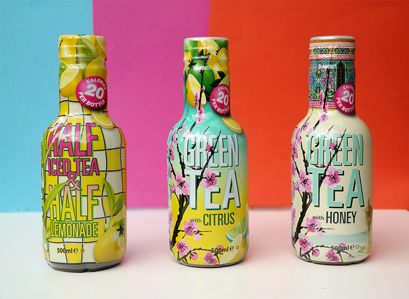 AriZona Iced Tea nieuwe Low Cal varianten