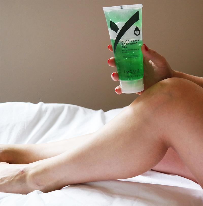 lycon aloe vera soothing gel soothing cream