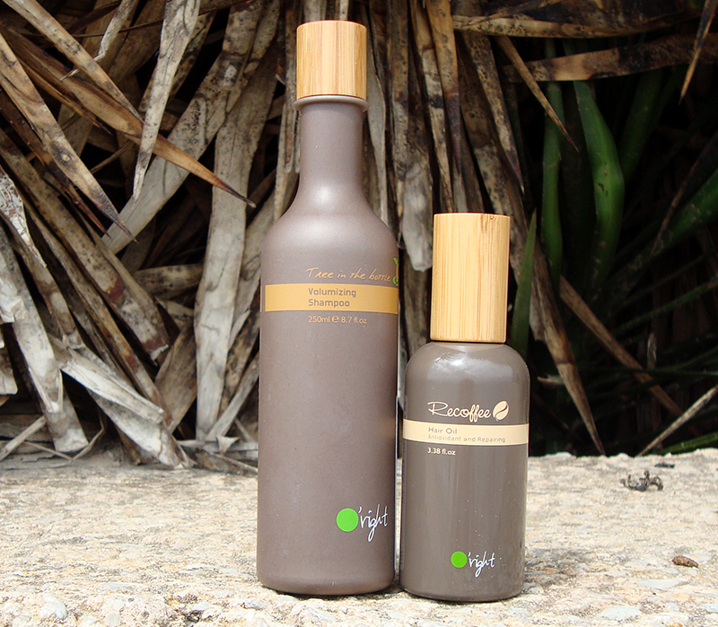 oright recoffee shampoo oil review