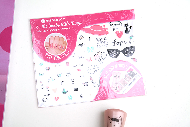 essence & the little lovely things nail styling stickers