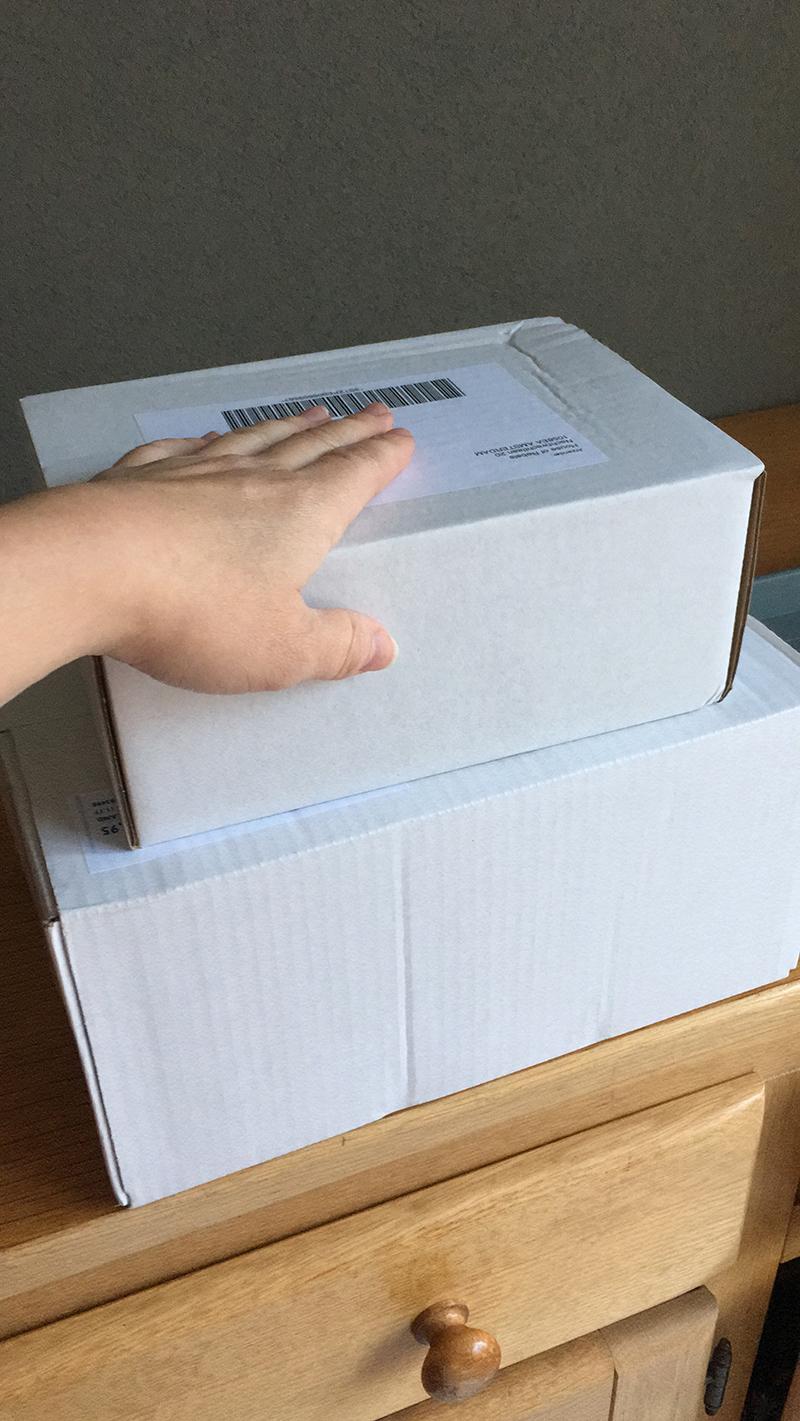 twee pakketjes