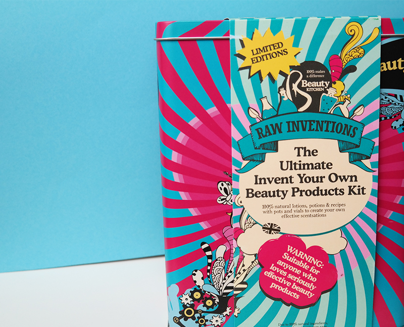 The Ultimate Invent Your Own Beauty Products Kit