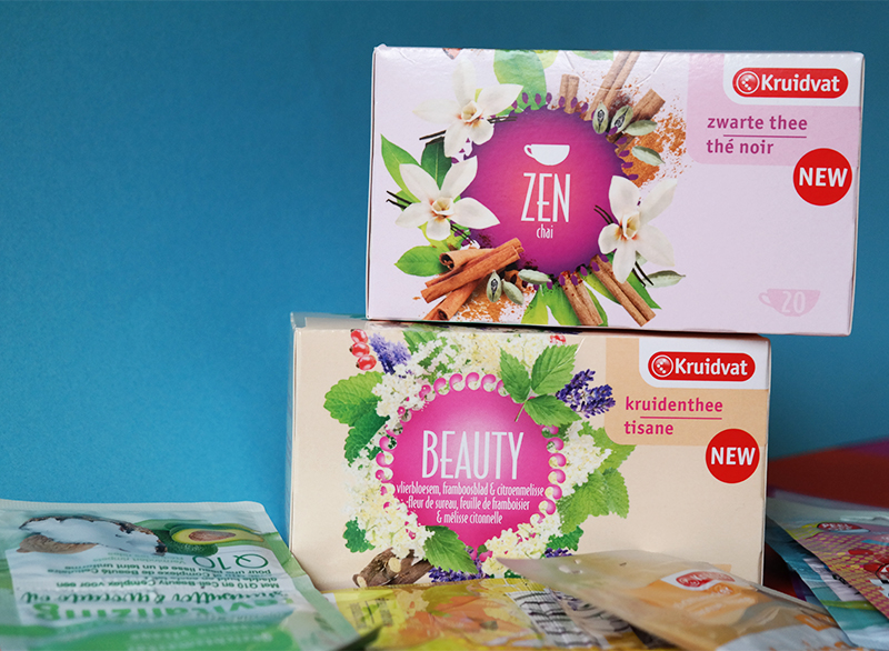 kruidvat zen thee masker