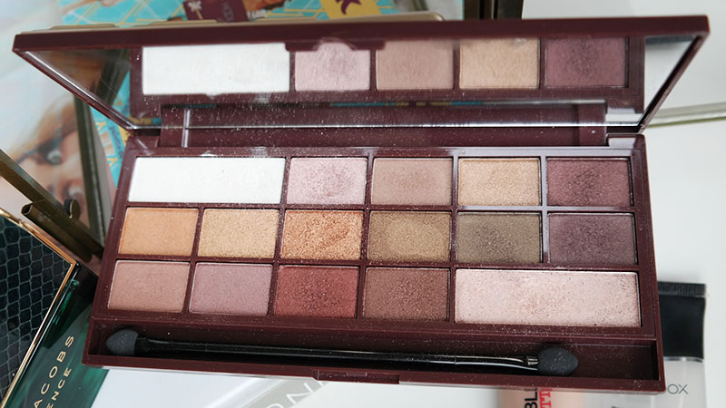 januari favorites I Heart Makeup Chocolate Elixir Palette