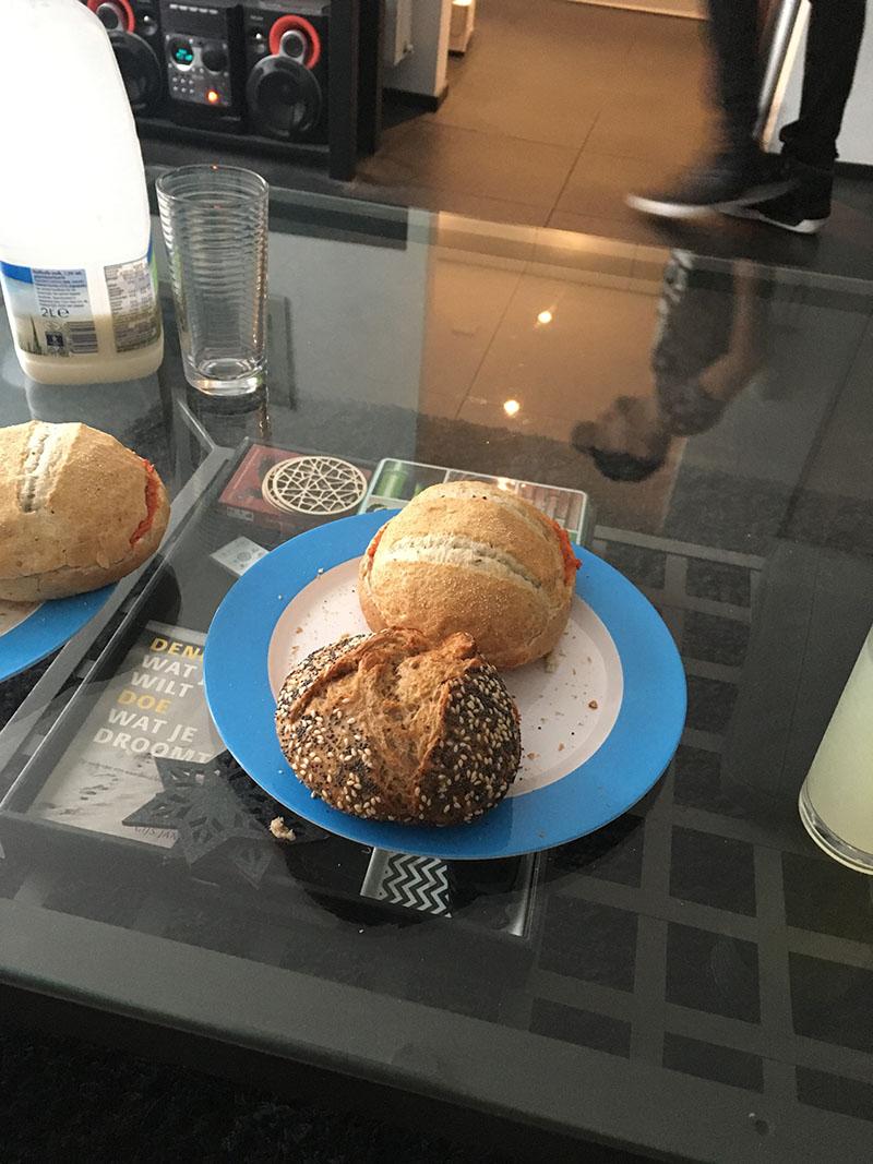 ontbijt broodjes