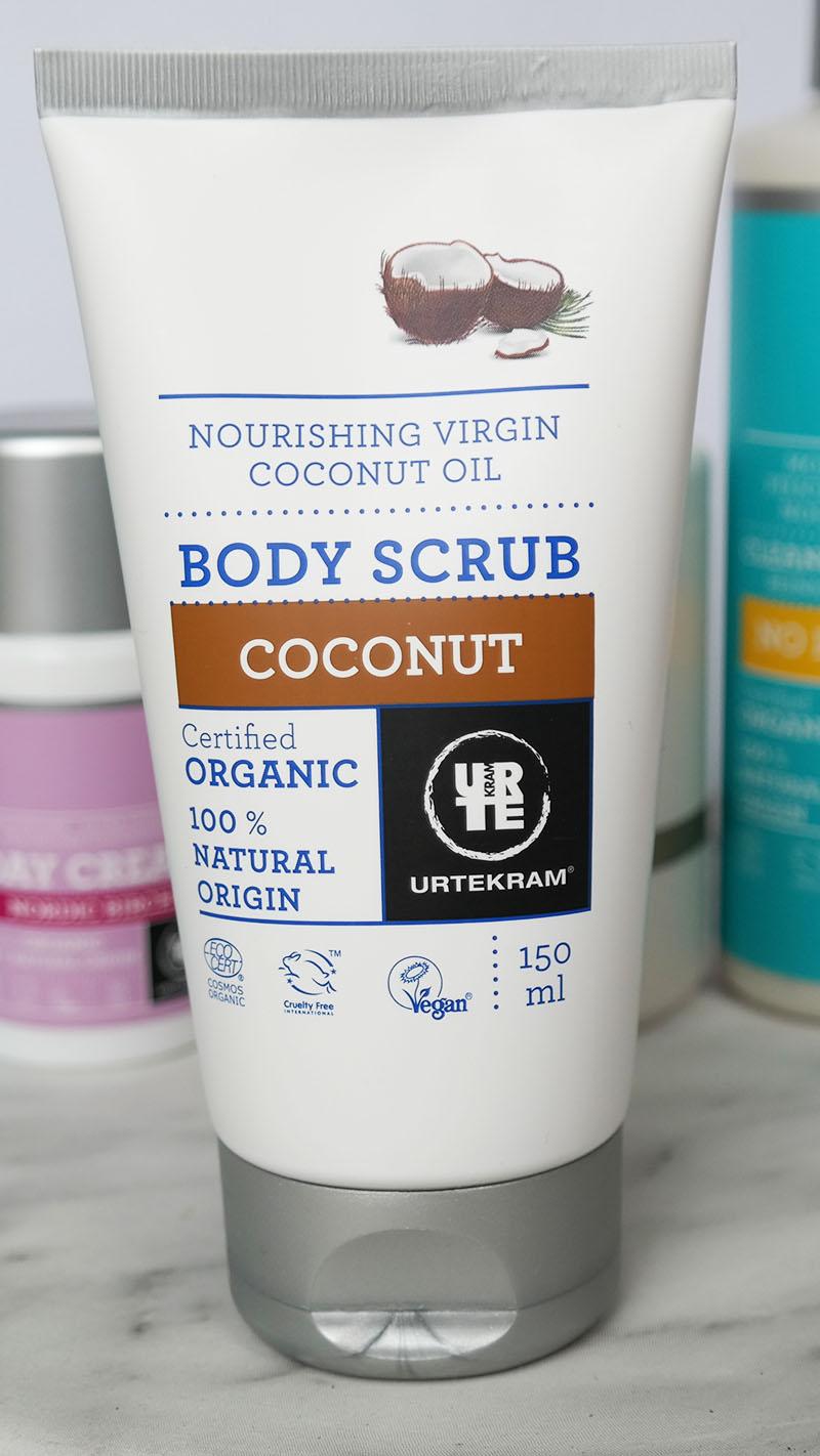 urtekram body scrub coconut