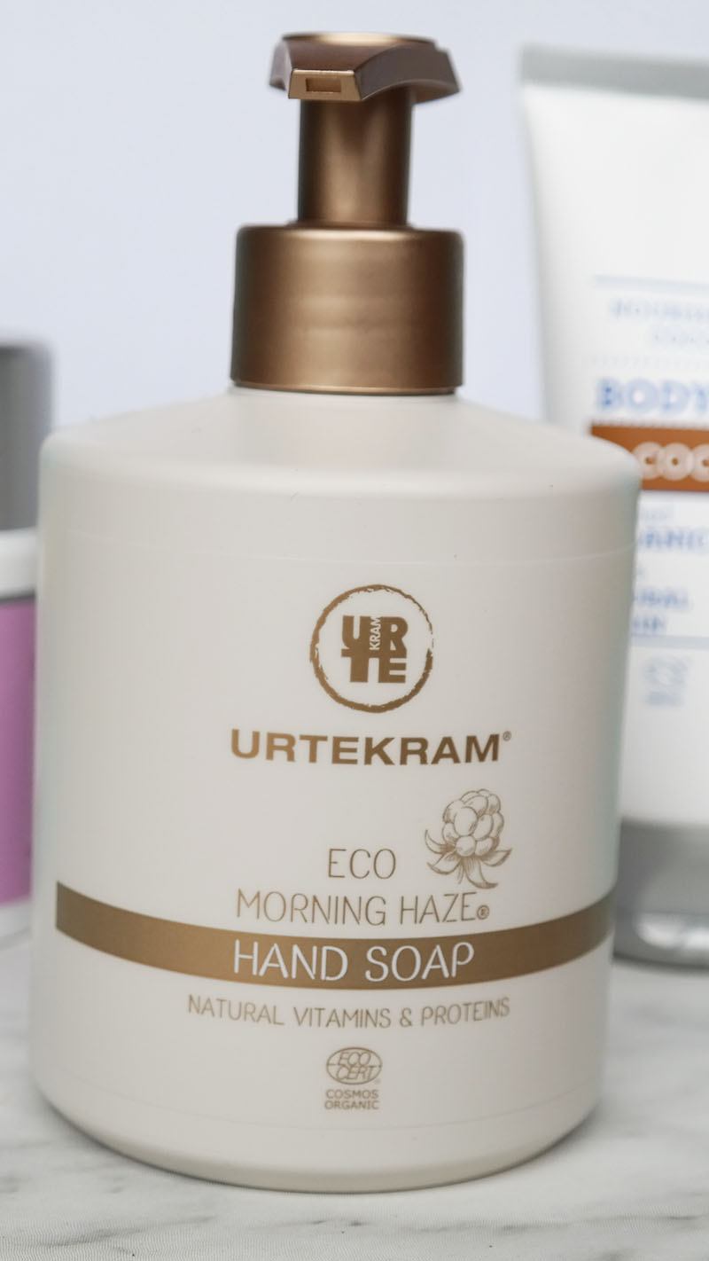 urtekram eco morning haze hand soap
