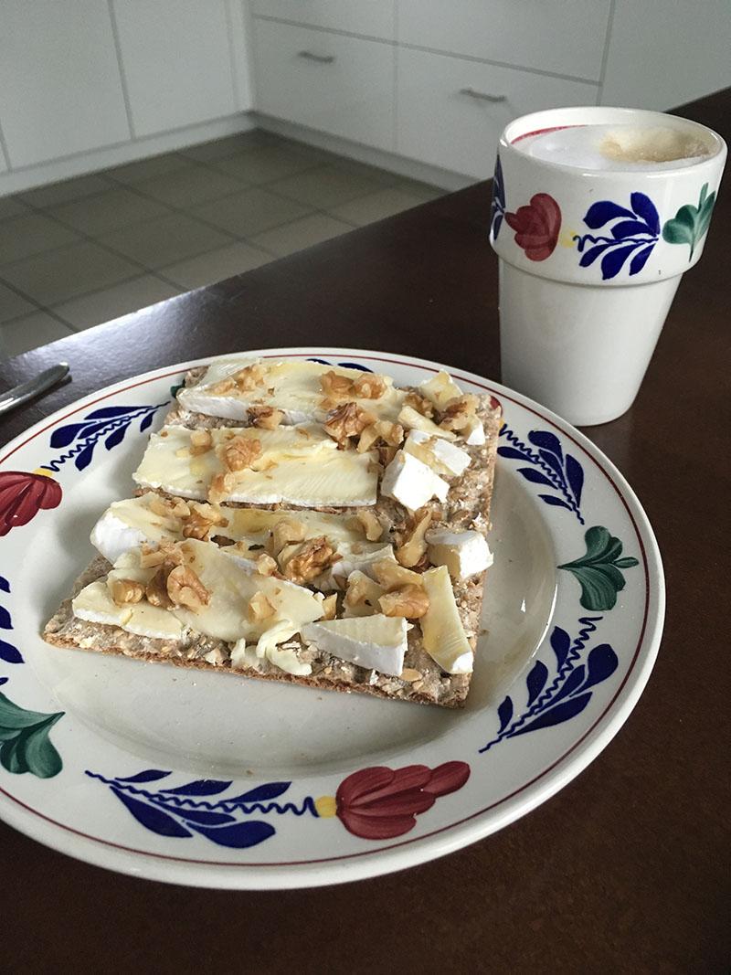 crackers ontbijt