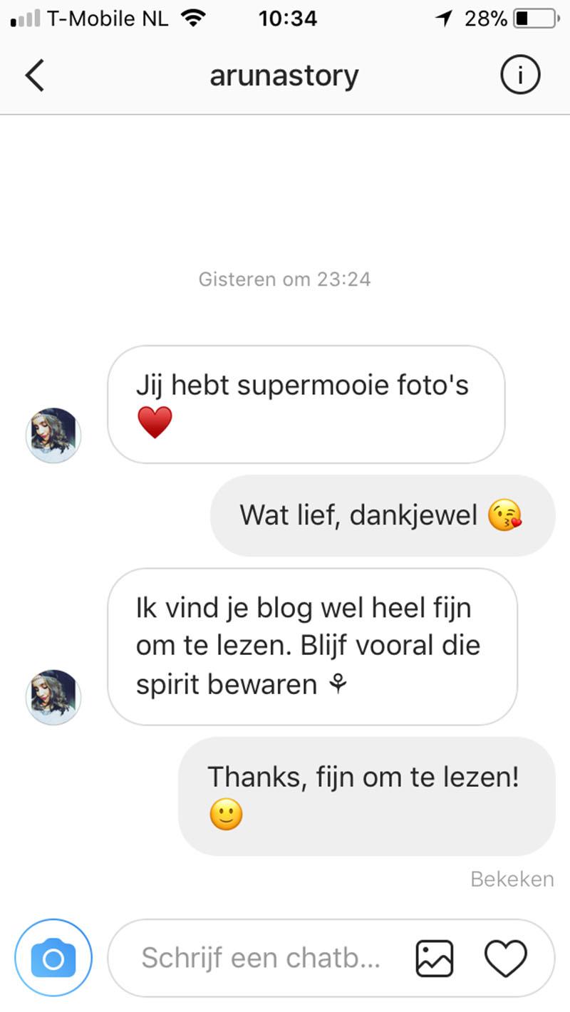 instagram bericht