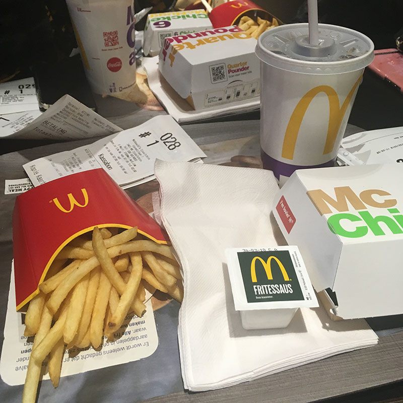 mc chicken menu