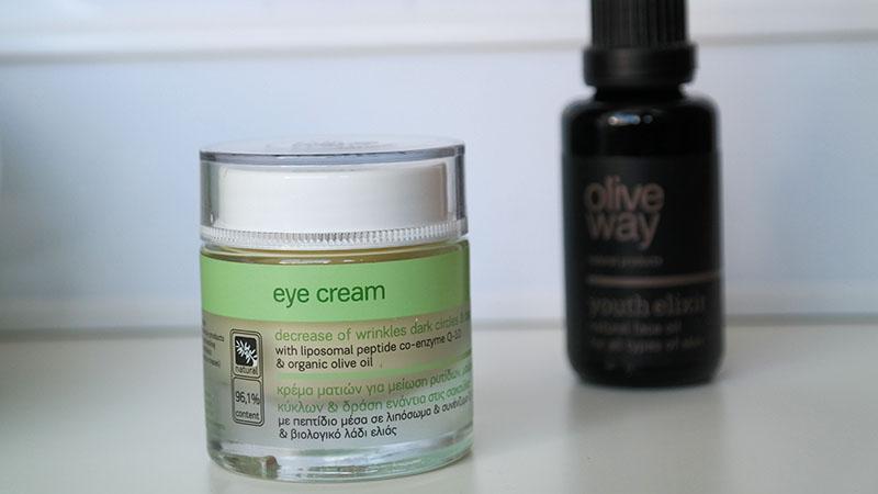 olive way oogcrème tegen kringen en wallen