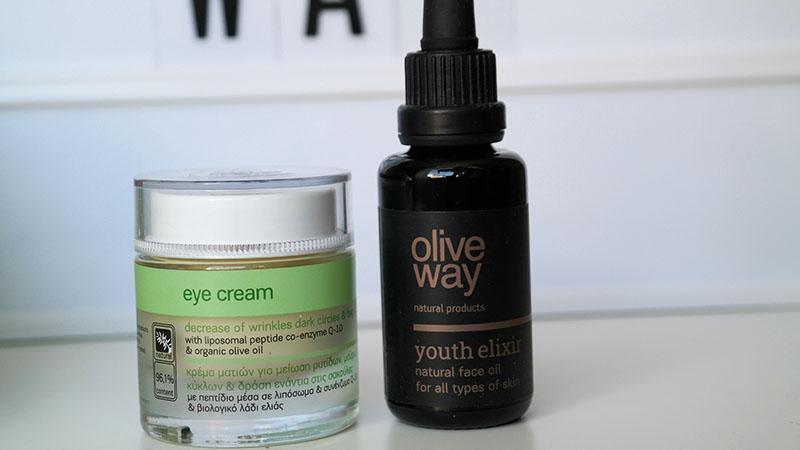 olive way oogcrème gezichtsolie