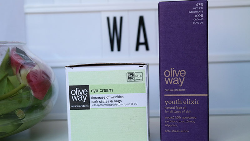 olive way eyecream face oil