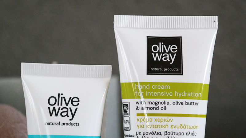 olive way hydrating face mask hand cream