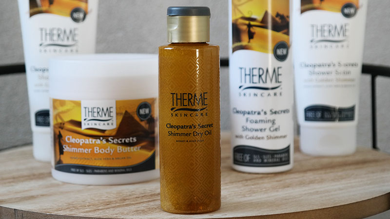 Therme Cleopatra's Secrets shimmer oil