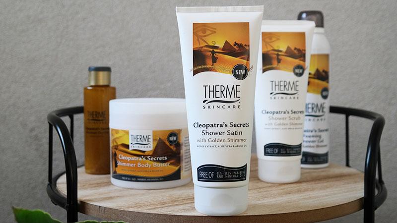 Therme Cleopatra's Secrets shower satin