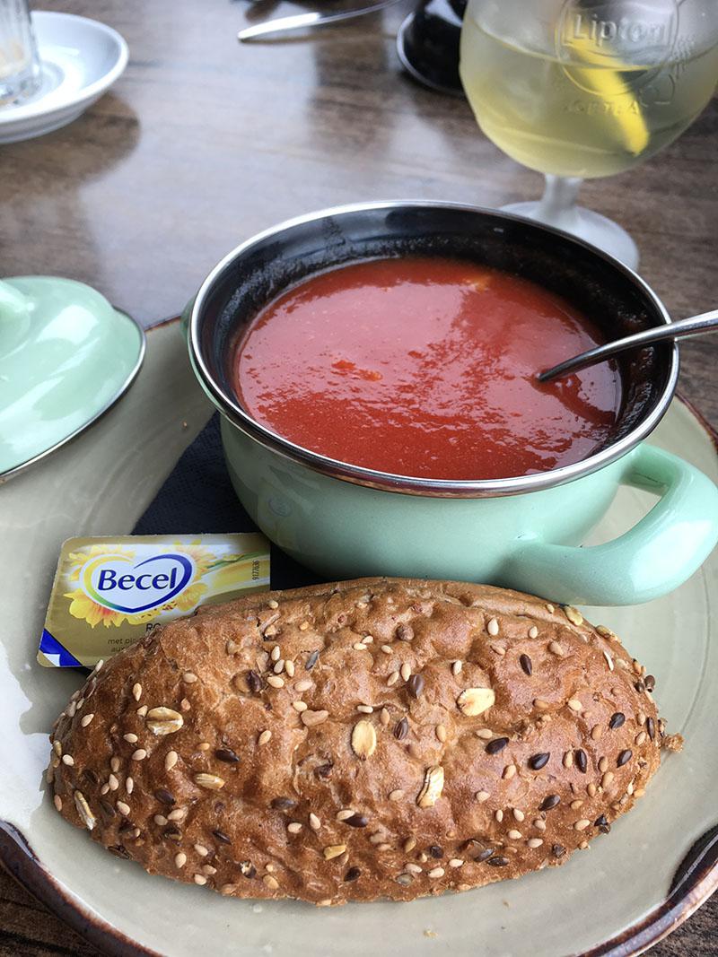 tomatensoep brood