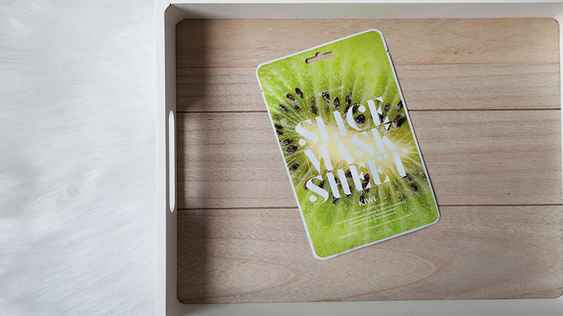 Kocostar slice sheet mask kiwi