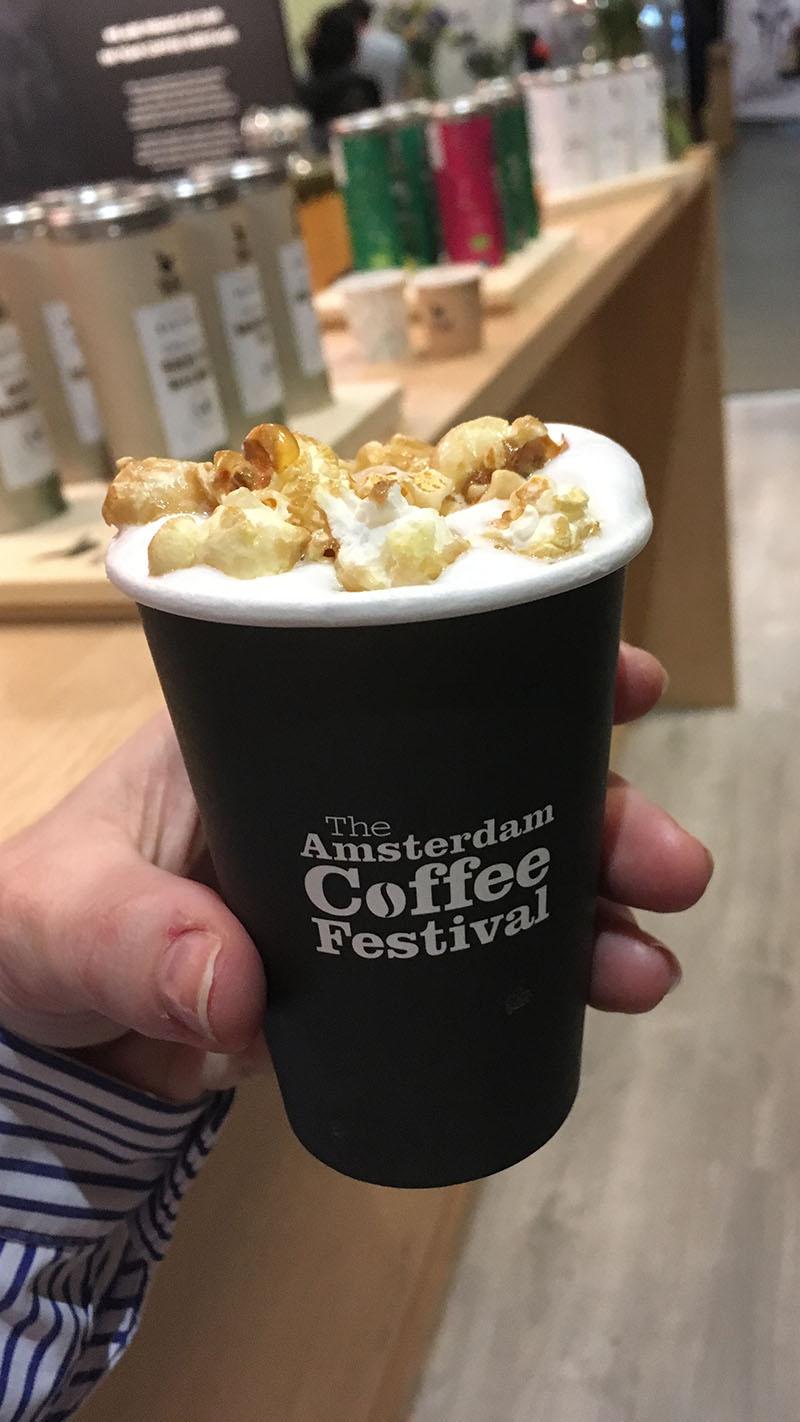 The Amsterdam Coffee Festival 2018 koffie popcorn