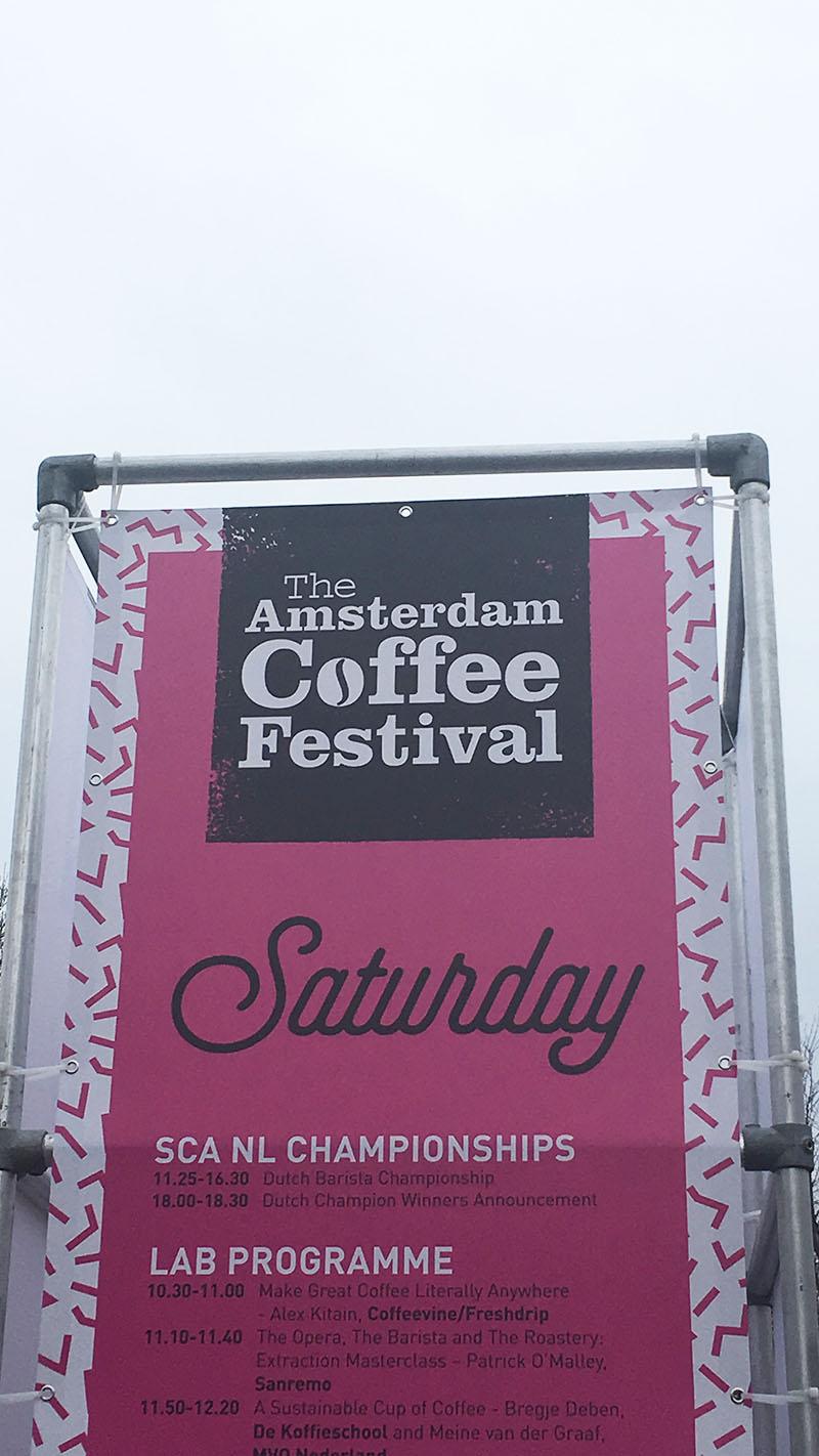 The Amsterdam Coffee Festival 2018 saturday