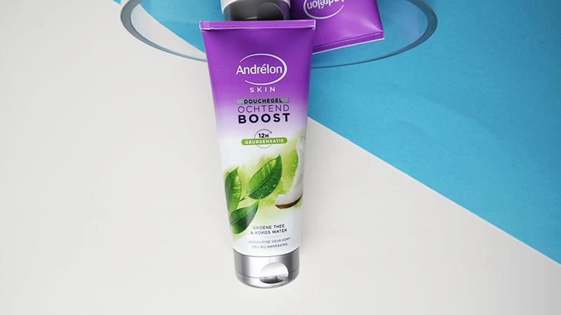 andrelon skin douchegel ochtend boost groene thee & kokos water
