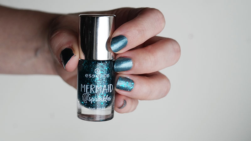 essence mermaid sprinkles top coat