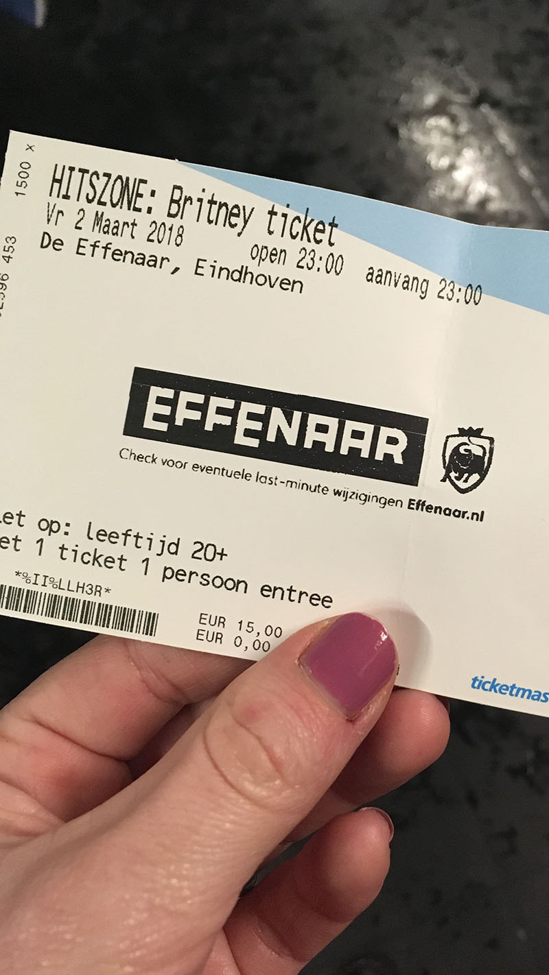 hitzone ticket effenaar