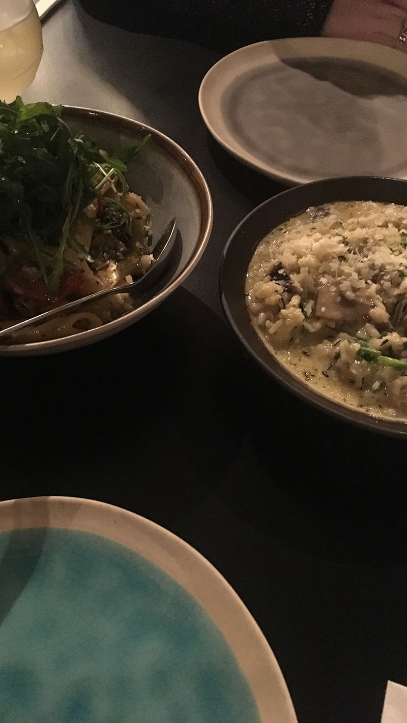 risotto penne berlage