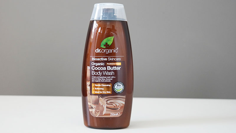 Dr Organic biologische Cocoa Butter body wash