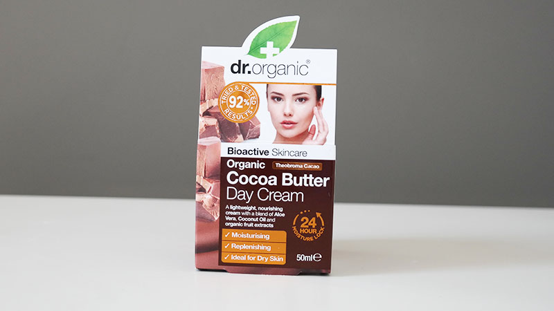 Dr Organic biologische Cocoa Butter day cream